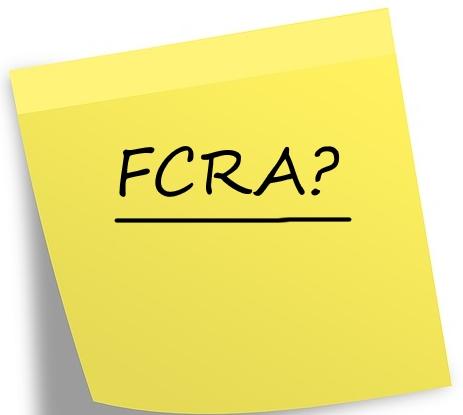 The One Minute Guide to the FCRA.